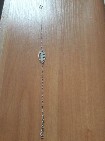 Bransoletka batman srebro 925