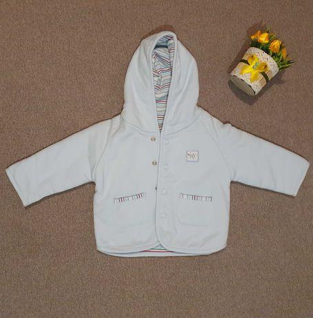 Кофта тёплая / куртка / с капюшоном 3-6 мес (62 р) Marks & Spencer