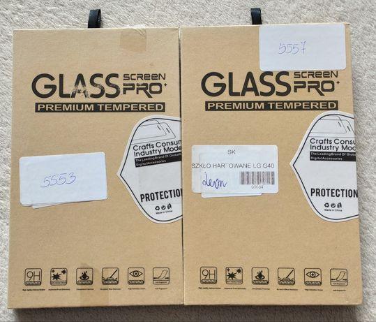 LG G40 Szkło hartowane ochronne 9H 3mm 2szt.
