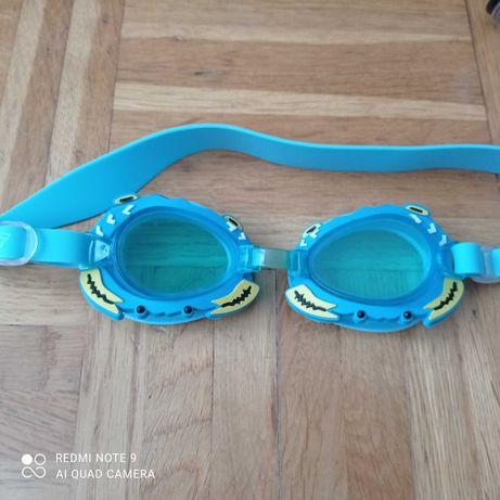 Okularki pływackie dla dziecka, kraby