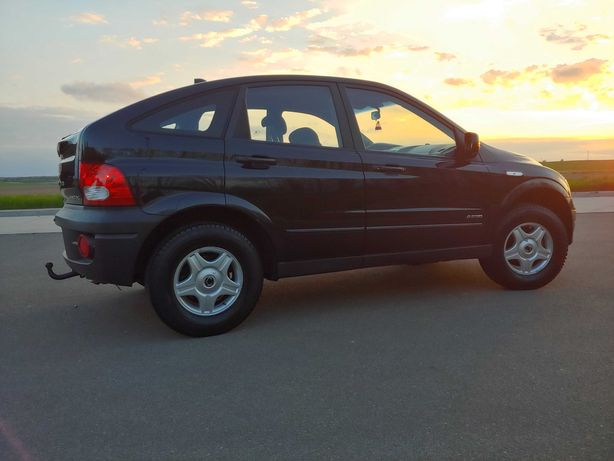 ssangyong action benzyna plus gaz