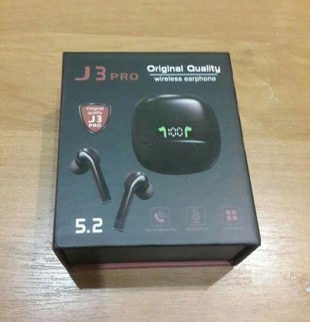 Навушники беспроводные сенсорные Bluetooth J3 PRO TWS 5.2