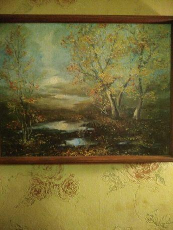 Пейзаж картина масло_холст живопись