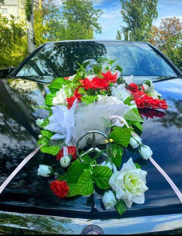 Аренда свадебных украшений на авто