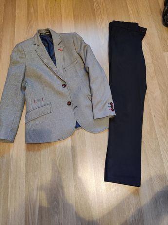 Garnitur, marynarka, spodnie  rozm 134