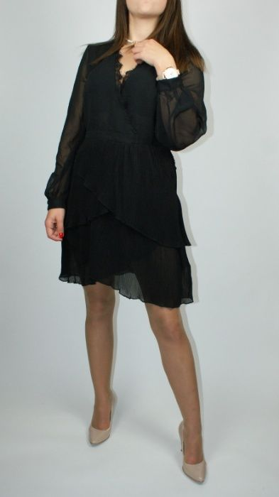 Sukienka mała czarna, plisowany dół Topshop - L Połaniec - image 1
