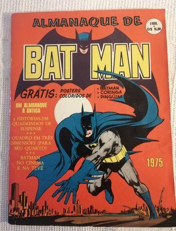 Almanaque de Batman 1975 Ebal. Raro. Excelente