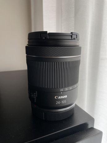 Canon RF 24-105mm f4-7.1 STM Nova com garantia