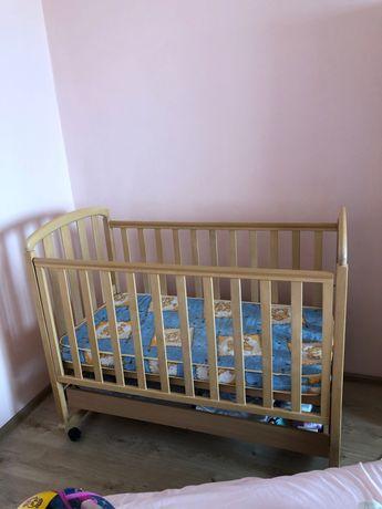 Детская кроватка Верес Соня ЛД-9 на колёсиках