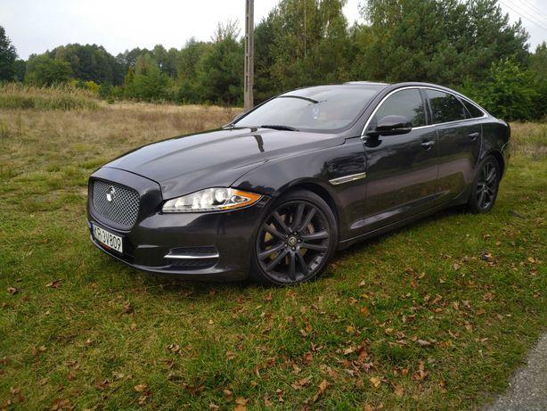 Wynajmę Jaguara XJL do ślubu 2015r. jasno brązowy środek full opcja