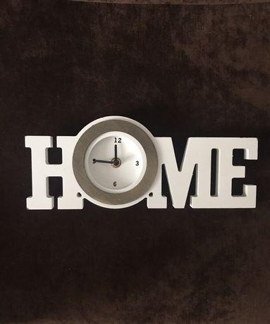 Zegar stojący napis HOME