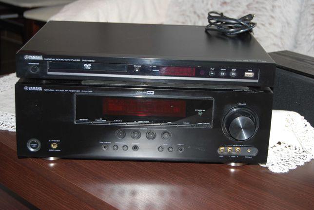 Zestaw YAMAHA ARX-V365  oraz  DVD S 663