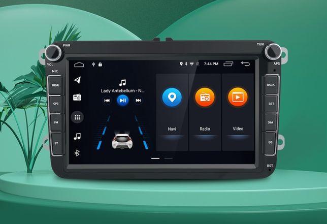 "Магнитола 2Din 8"" Android Volkswagen Skoda Seat"