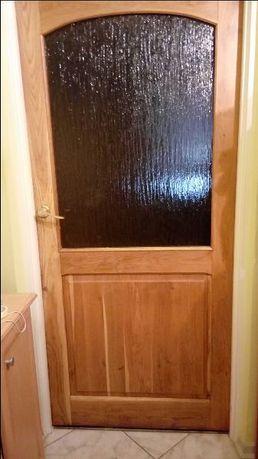 drzwi pokojowe drewno dąb