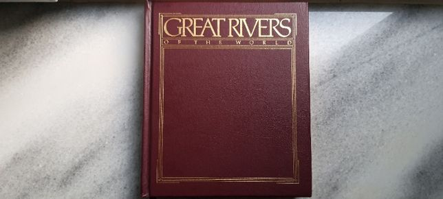 Książka / book Great Rivers of the World - National Geographic 1984 r.