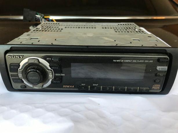 SONY CDX L450 radioodtwarzacz CD 4x50W