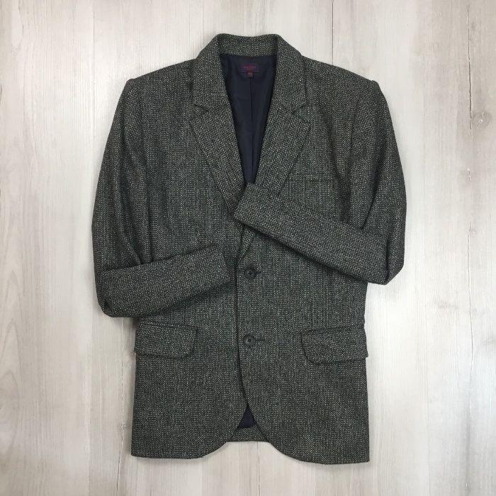 Оригинал! S Пиджак приталенный полушерстяной Paul Smith шерсть Запорожье - изображение 1