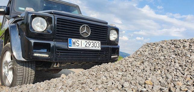 Gklasa g-klasa auto do ślubu suv 4x4 terenowy mercedes czarny wynajem