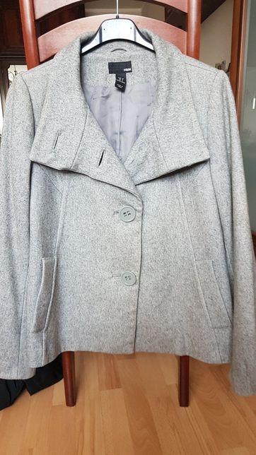 Kurtka Trencz Płaszcz krótki h&m przejsciowy roz 36 S
