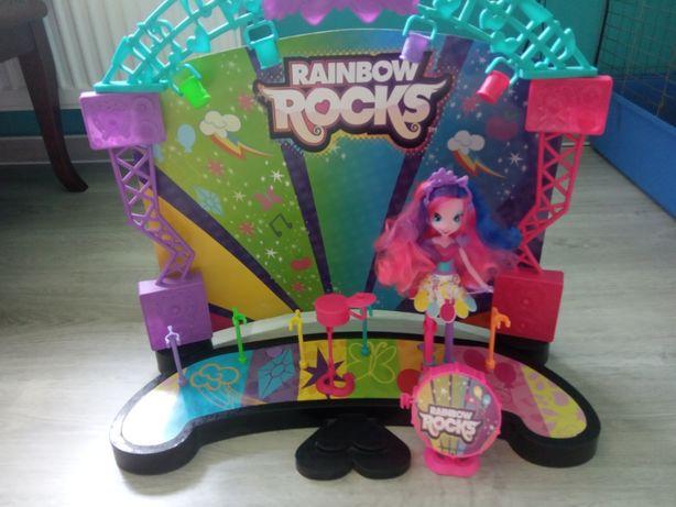 My Little Pony Equestria Girls scena + Pinkie Pie