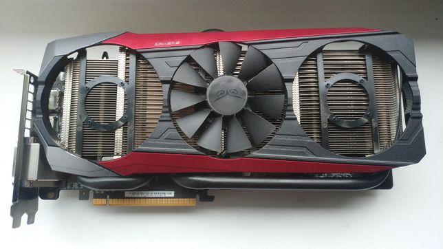Karta graficzna AMD Radeon Asus Strix R9 390 8GB uszkodzona