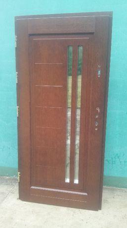 - 50 % Wyprzedaż Ekspozycji Drzwi Drewniane 78 mm Zewnętrzne 99x208