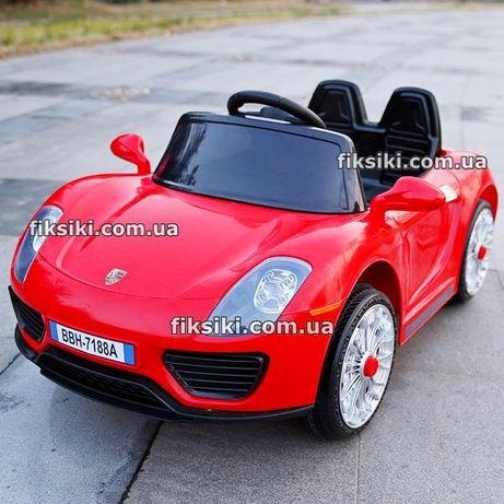 Детский электромобиль 7616 красная, Дитячий електромобiль