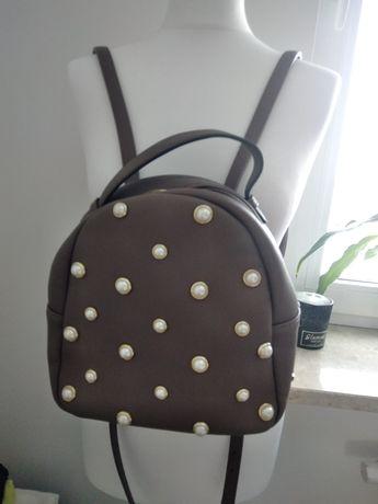 Torebka plecak witchen oryginał perelki