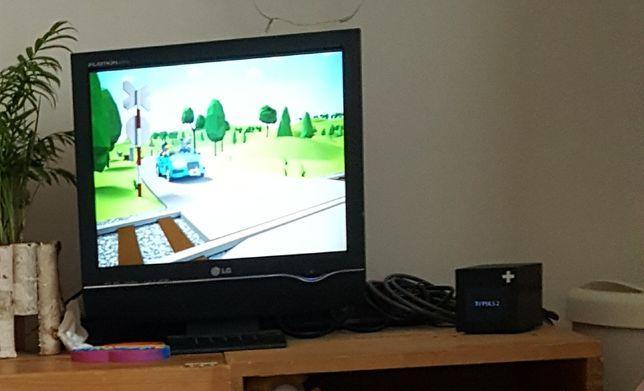 Sprzedam Tv(monitor) z dekoderem DVB-T Player box
