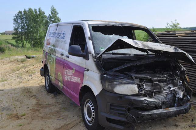 vw t6 bus uszkodzony 140 km 16 r.sprowadzony