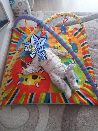Розвиваючий коврик для малят. 0-12міс.