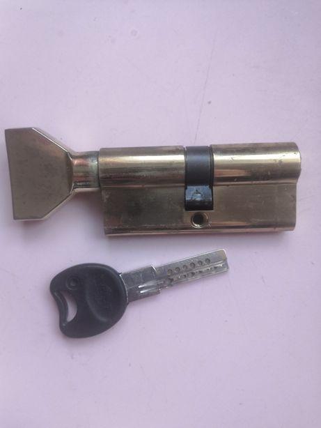 Цилиндр дверной IMPERIAL ck 70 35x35 pb, циліндр на замок