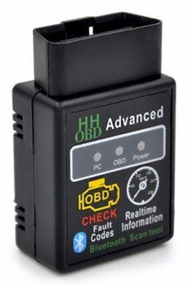 Aparelho ELM327 Bluetooth OBD2 - ler e apagar erros