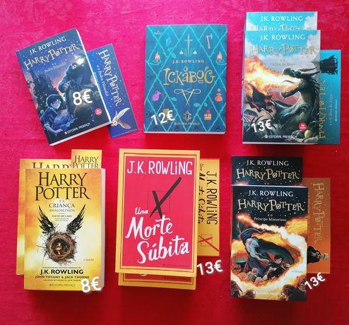 Harry Potter - Novos a estrear com marcador - Desde 8€