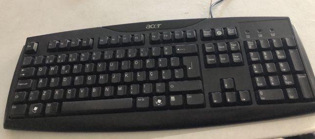 Teclado Acer e/ou rato Trust