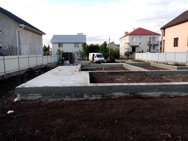 МОНОЛІТНІ РОБОТИ бетонні роботи БУДІВЕЛЬНІ послуги