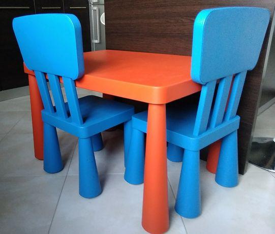 Stolik plus 2 krzesełka - Ikea, Mammut