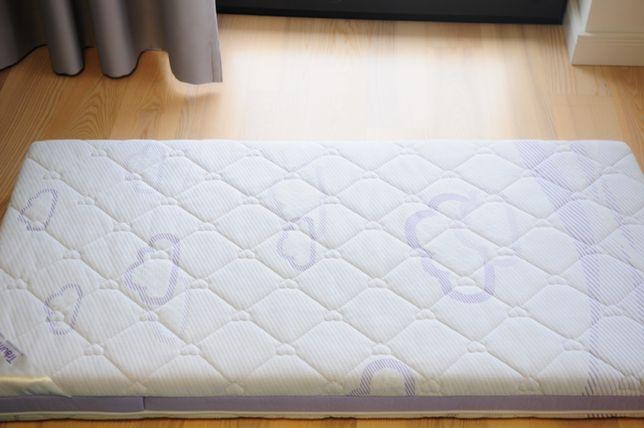 Materac piankowy TRAUMELAND Chmurka do łóżeczka 120x60 cm