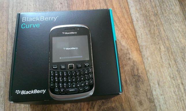 Blackberry 9320 Curve black QWERTY zadbany zestaw