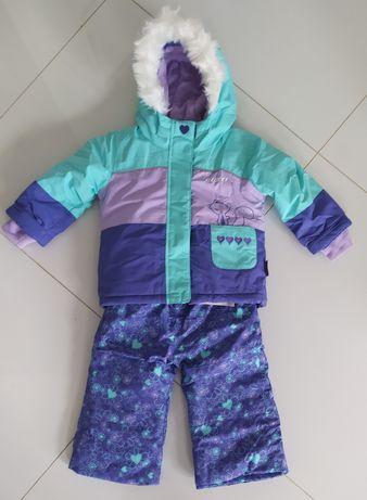 Zimowy nowy Kombinezon komplet spodnie kurtka  Gusti wodoodporny 3M