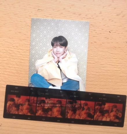 pocztówka postcard persona bts j-hope