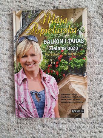Balkon i taras Zielona oaza Autor: Maja Popielarska
