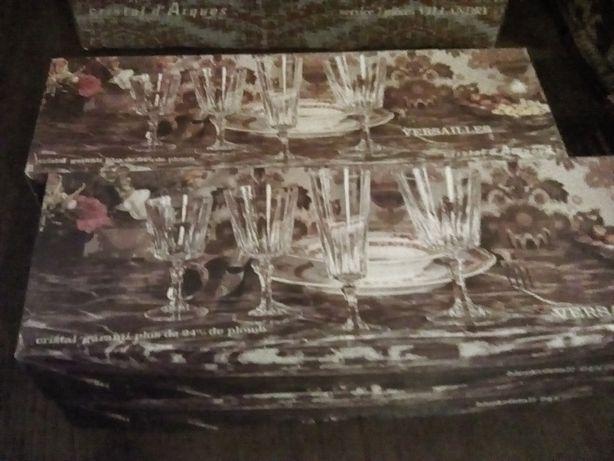 Conjunto copos Versailles em Cristal d'Arques