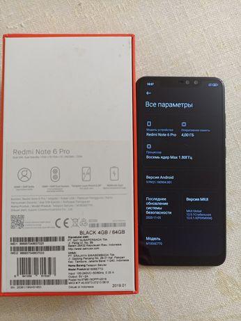 Продам Xiaomi Redmi Note 6 Pro 4/64