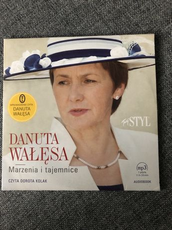 Audiobook Danuta Wałęsa Marzenia i tajemnice
