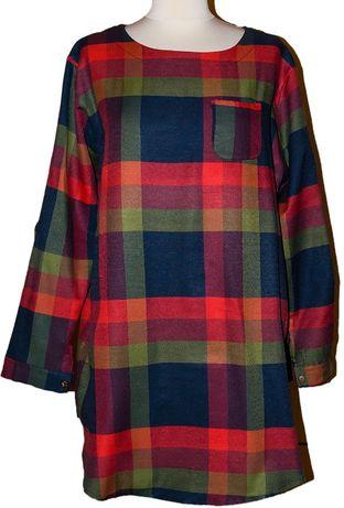 Nowa sukienka w kratę, rozm.54