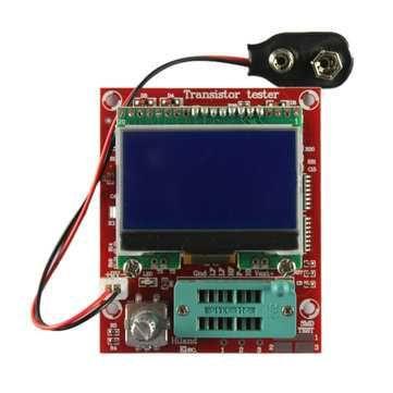 Тестер LCR, ESR транзистор тестер Hiland M644