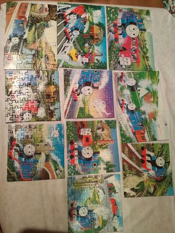 Puzzle Tomek i przyjaciele. 10 układanek