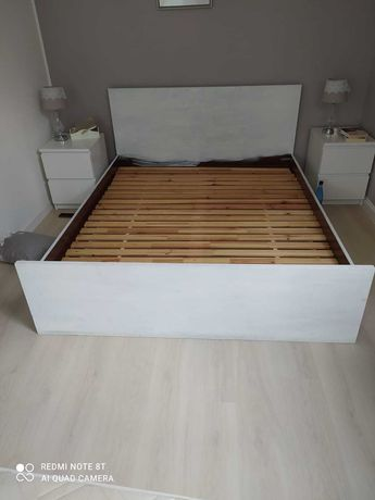 Łóżko 160 x 200 że stelażem