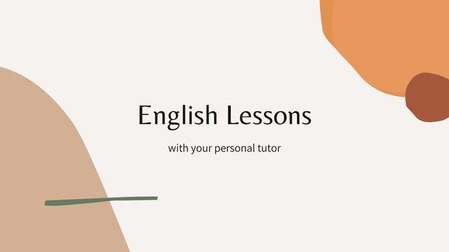 Репетитор Английского Языка / English Tutor For Children and Teenagers